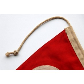 Period swastika triangle banner small size