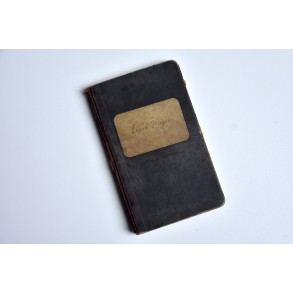 """Period """"Seefahrbuch"""" 1934-1939 to sailor Ernst Mayer"""