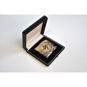 """German cross in gold by C.F. Zimmermann """"20"""" MINT + box"""