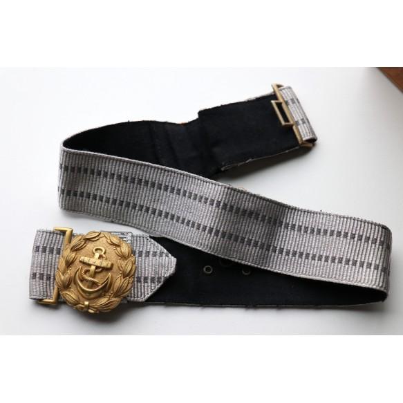 Kriegsmarine officer belt and buckle