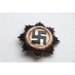 """German cross in silver by C.F. Zimmermann """"20"""" + """"box"""""""