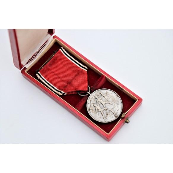 13. March 1938 Austrian annexation medal + box by Hauptmünzambt Wien