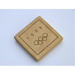 1936 Olympic games memorial medal in box