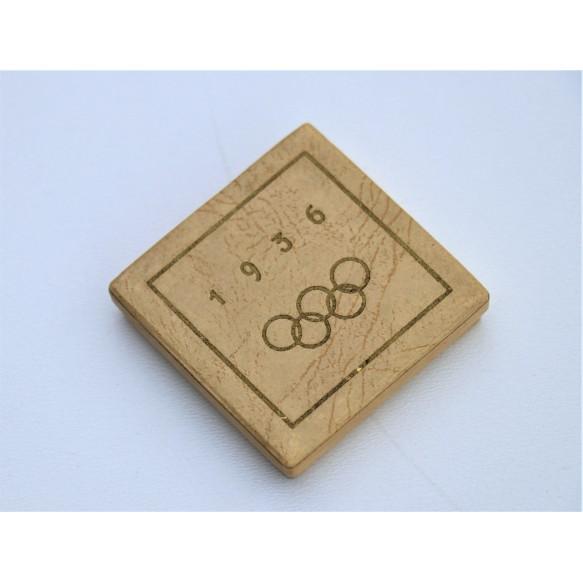 1936 Olympic games memorial medal in box