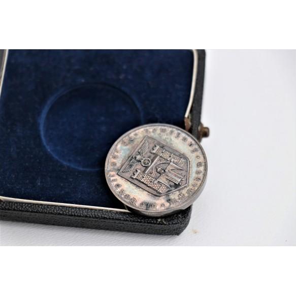 Silver Munich merit medal + box