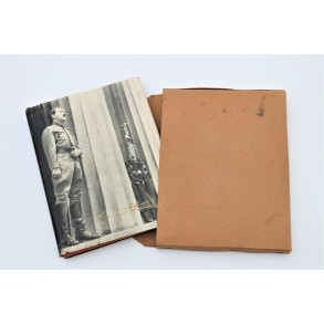 "Period book ""Adolf Hitler"" + cardboard case"