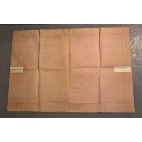 "Period large poster ""Aufruf - Oproep"" Den Haag, Holland 1944"