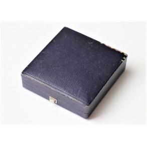 Spanish cross blue presentation box