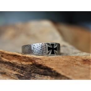 "1914-1918 Iron cross ring, silver ""800"""