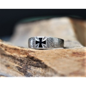 "1914-1918 Iron cross ring, silver ""800"""