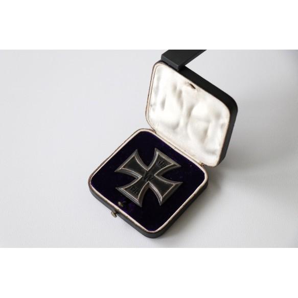 WW1 Iron cross 1st class + case