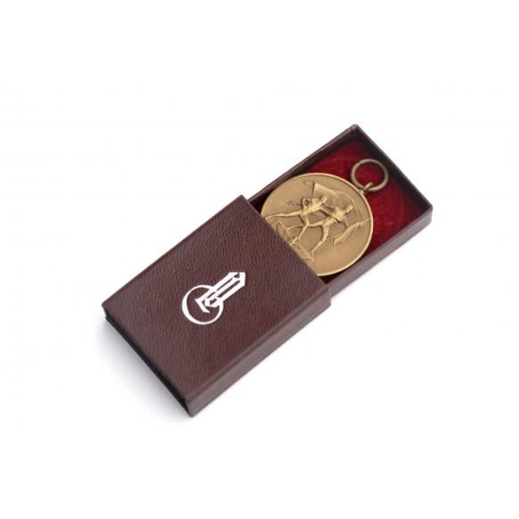 "Czech annexation medal by Wilhelm Deumer + Deumer L/11 ""bee"" matchbox"