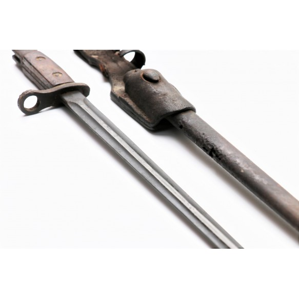 WWII Belgian bayonet, German reissue for Vlaamse Fabriekswacht