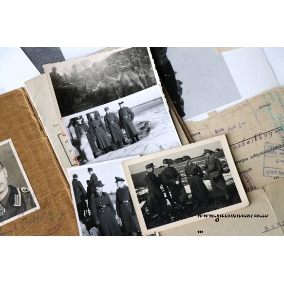 Soldbuch grouping to Ernst Jetting, RK as Oberfeldwebel 1./GR29 (mot.) 04 jun 1944