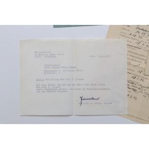 Small grouping to J. Krämer, Pz Jäger, EK1, EK2, GAB. March 1945!