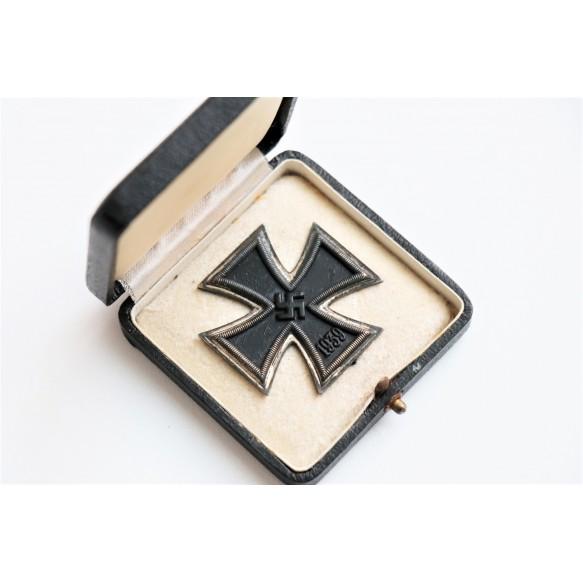 """Iron Cross 1st class by Fritz Zimmermann """"6"""" + box"""