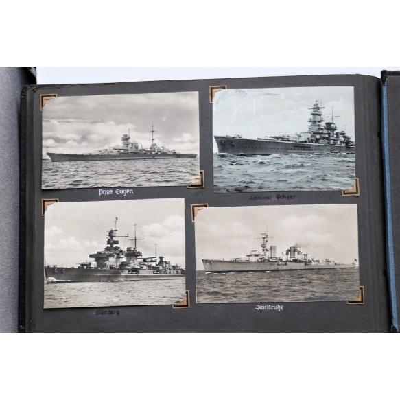 "Kriegsmarine grouping to Hanns, member of the Zerstörer ""Z24"" and ""Z29"" Tirpitz escort ship"