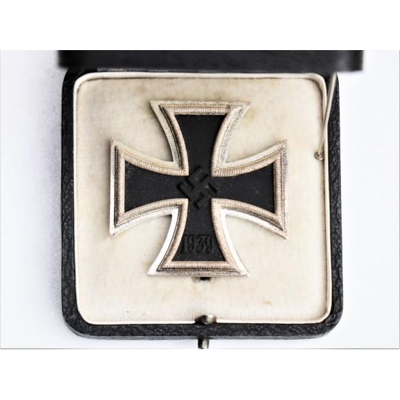 "Iron cross 1st class by C.F. Zimmermann ""L/52"" + ""20"" + box"