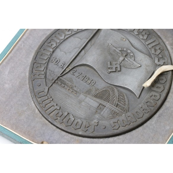 Table medal NSFK Wettkampf Düsseldorf + green box