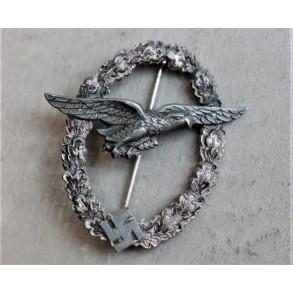 "Luftwaffe glider pilot badge ""ball hinge"""