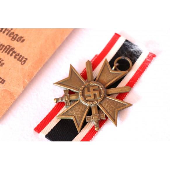 War merit cross 2nd class by H. Knab, Wien + package
