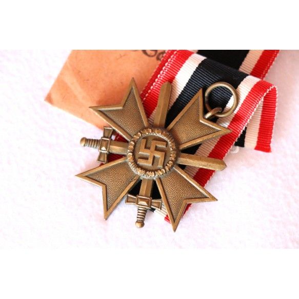 War merit cross 2nd class by H. Knab, Wien + package