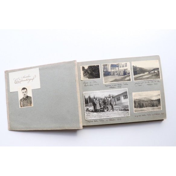 Photo album Holland, Utrecht, Belgium, Ypers, Spain 1940! Afrika 1943.