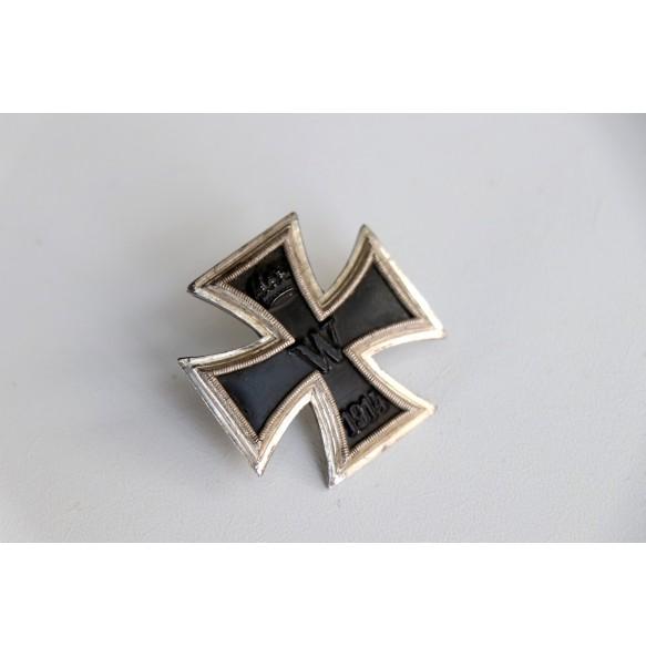 """WW1 Iron Cross 1st class by Wilhelm Deumer """"Prinzengrösse"""""""