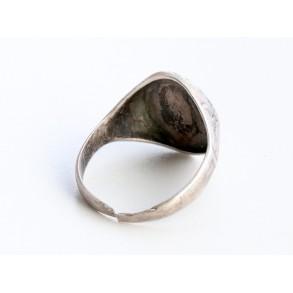 """Luftwaffe observer ring """"835"""" silver"""