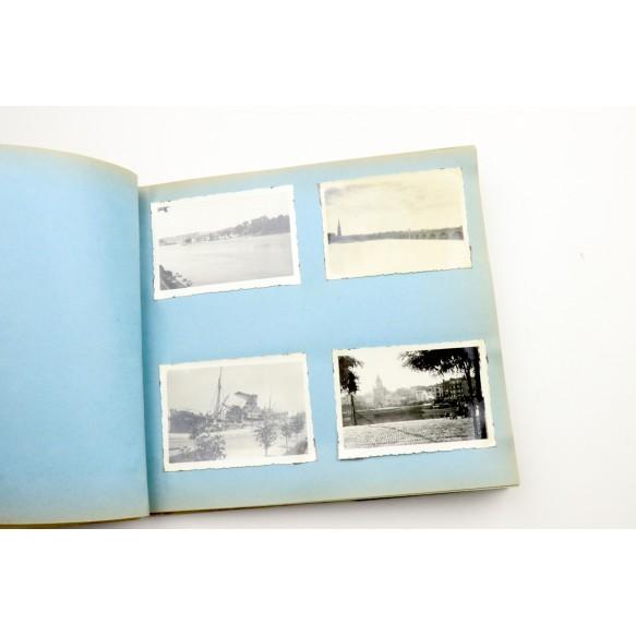 1940 photo album France/Belgium + diary