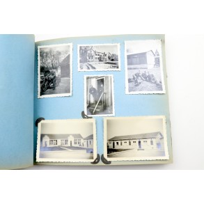 1940 photo album France/Belgium + diary