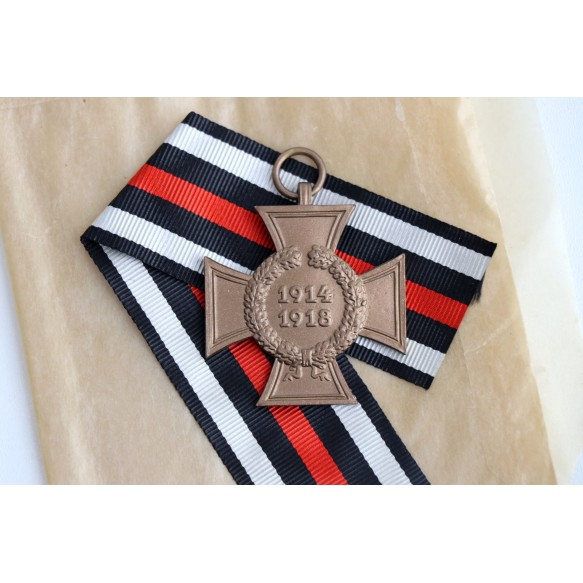 1914-1918 Honour cross without swords + package MINT