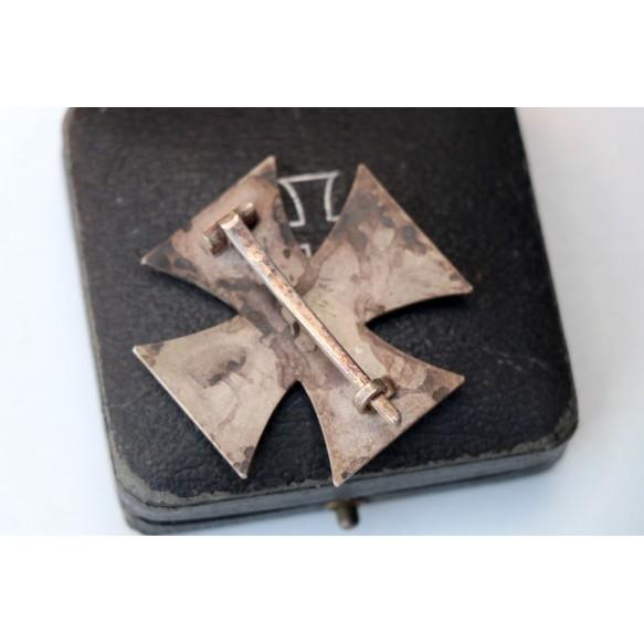 "Iron cross 1st class by C.F. Zimmermann ""20"" + box"