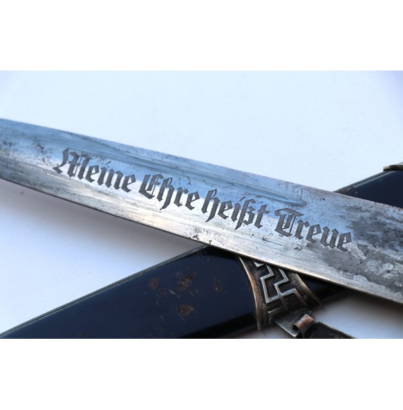 "Early chained SS dagger ""Eickhorn"""