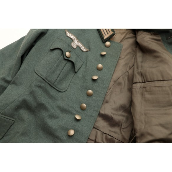 """Alter Art army tunic to Stabsarzt """"Schlapp"""" 1934"""