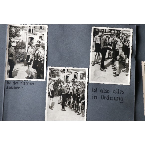 Hitlerjugend HJ officer photo lot 1939-41