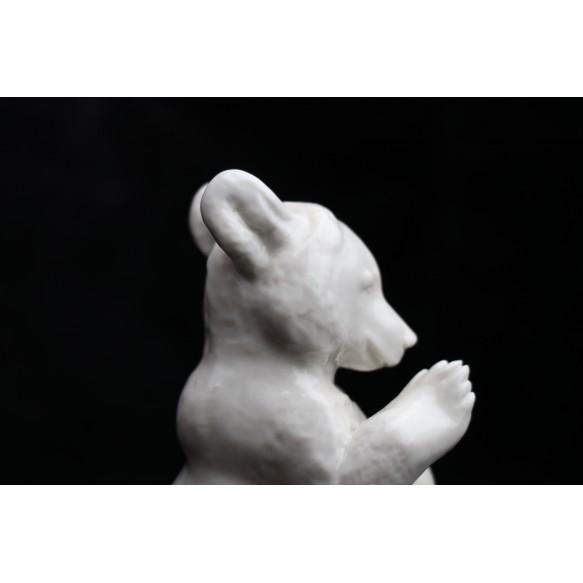 """SS porcelain Allach """"begging bear"""""""