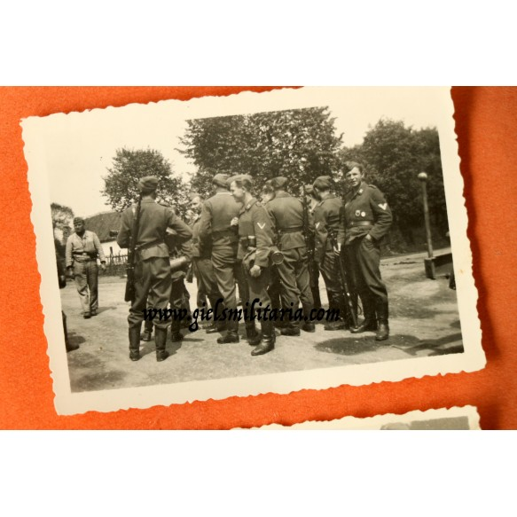 Luftwaffe field division grouping to W. Metzger, schw. Flakersatz-Abt 7 in West Europe 1944