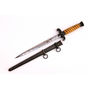 "Army Wehrmacht officer dagger by Lauterjung & Co ""TIGER"""