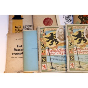 Book lot: old Flemish nationalist literature