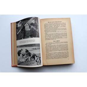 """Period HJ book: """"Wille, Weg, Ziel, Jugend berichtet"""" 1938"""