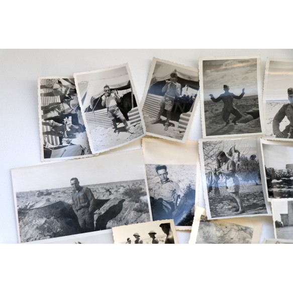 Photo lot Afrikakorps 1941-1943, Tunis, Libya, El Alamein, Derua,...