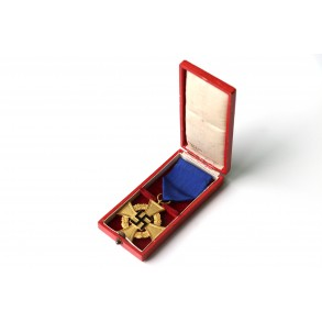 40 year civil service cross + box by Deschler