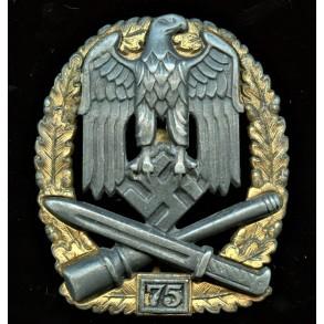 General assault badge 75 assaults by Josef Feix
