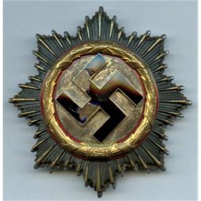 The German cross in Gold of Karl Fürbringer, Kamfgeschwader 76 awarded 24.9.1942