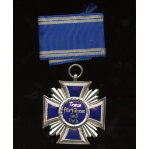 """NSDAP 15 year service award by B. H. Mayer's Kunstprägeanstalt """"2"""" MINT"""