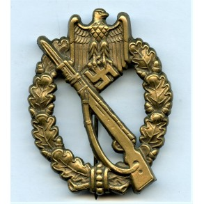 Infantry Assault Badge in bronze by Hymmen & Co