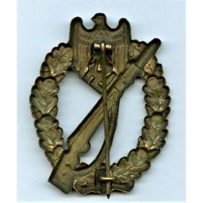 Infantry Assault Badge in bronze by Hymmen & Co