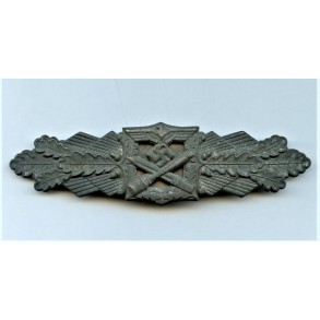"""Close combat clasp in silver by Friedrich Linden """"FLL"""""""