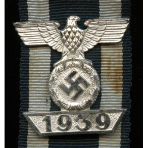 """Iron cross clasp 2nd class by W. Deumer """"L/11"""""""